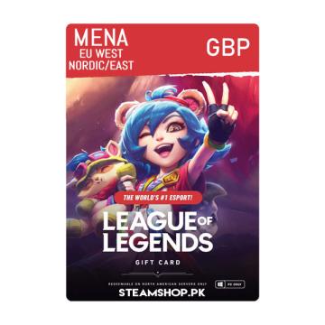 League of Legends RP (GBP)
