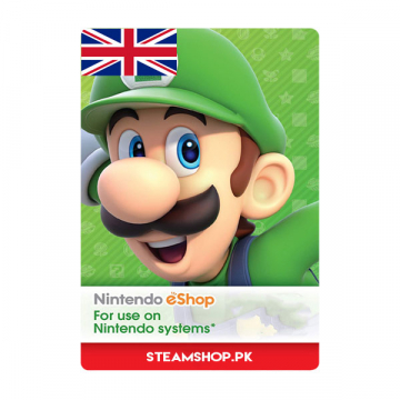Nintendo eShop Card (UK)