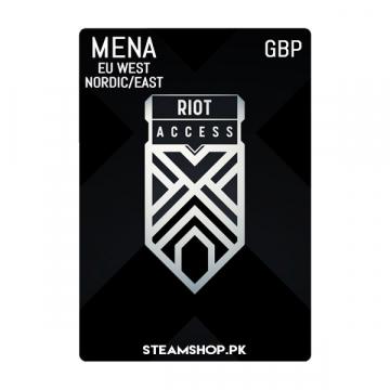 Riot Access Code (GBP)