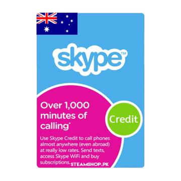 Skype Prepaid Card (AU)