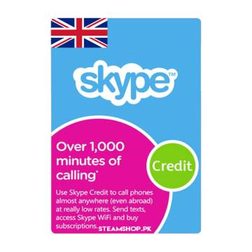 Skype Prepaid Card (UK)