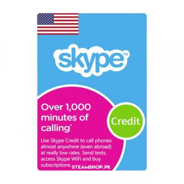 Skype Prepaid Card (US)