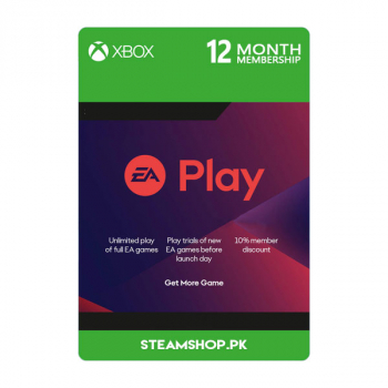 12 Months Xbox EA Play Subscription